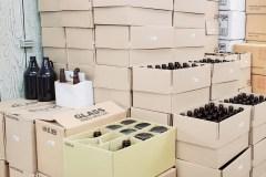 Beer Bottles and Growlers